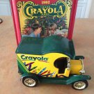 1992 Crayola Collectible Holiday Tin With 1912 Diecast Truck First In Series