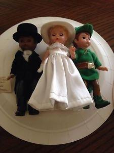 2002  2004 Madame Alexander McDonalds Premium  Set Of Six Dolls