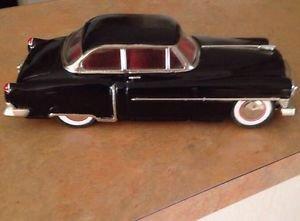 Leadworks Fifties Black Cadillac Sedan 1950 Tinplate Friction Nice