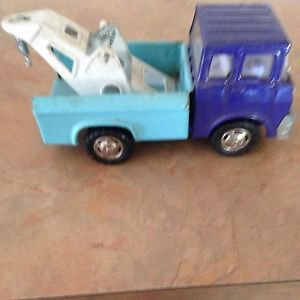 Marx 1970 Pressed Steel Tow Truck Japan 1970 Nice