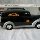 Ertl 1938 Chevrolet Panel Truck Bank with key NIB Orloskis Quik Mart Shell 1994