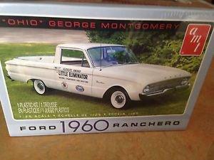 "AMT 1/25 1960 Ford Ranchero ""Ohio George Montgomery"" Plastic Model Kit 822"