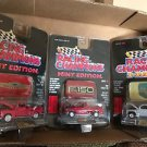 RACING CHAMPIONS LOT OF 3 TRUCKS MINT EDITION 1996 MIB