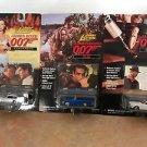 Johnny Lightning Set of 3 James Bond 007 Cars w photo cards MOC