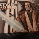 Star Wars 1/6 scale Ben Obi-Wan Kenobi Pre-painted Vinyl Model Kit 1995 NOS