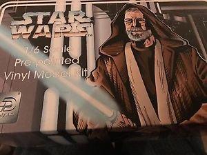 Star Wars 1/6 scale Ben Obi-Wan Kenobi Pre-painted Vinyl Model Kit 1995 NOS