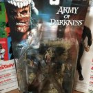 Evil Ash McFarlane Toys Movie Maniacs Series 4 Army of Darkness NOS 2001