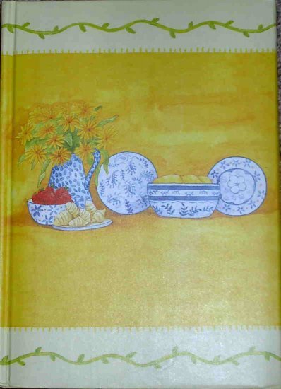 Kitchen Pottery Lined Padded Hard Cover Writing Journal