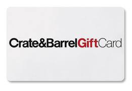 Buy visa gift cards - Crate and Barrel $100 Gift Card