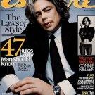 Esquire Magazine-Benecio Del Toro 03/2003
