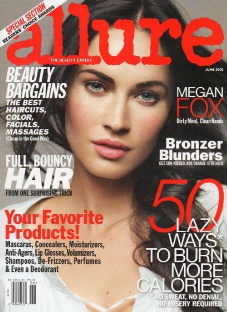 Allure Magazine-Megan Fox Cover 06/2010