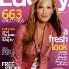 Lucky Magazine-Molly Sims Cover 08/2004