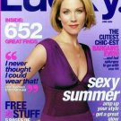 Lucky Magazine-Christina Applegate Cover 06/2004