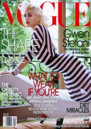 Vogue Magazine-Gwen Stefani Cover 04/2004.