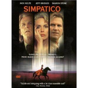 Simpatico (2000) DVD starring Jeff Bridges & Sharon Stone