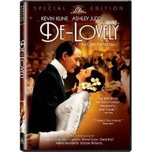 De-Lovely: The Cole Porter Story DVD starring Kevin Kline & Ashley Judd