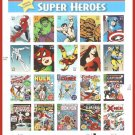 Marvel Super Heroes US Commemorative Postage Stamps