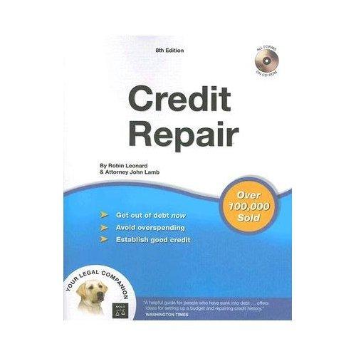 Credit Repair by John Lamb, Robin Leonard  8th ed. w/CD-ROM(paperback)