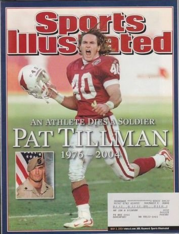 2004 Sports Illustrated Pat Tillman American Hero