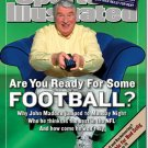 Sports Illustrated Magazine John Madden 07/29/2002