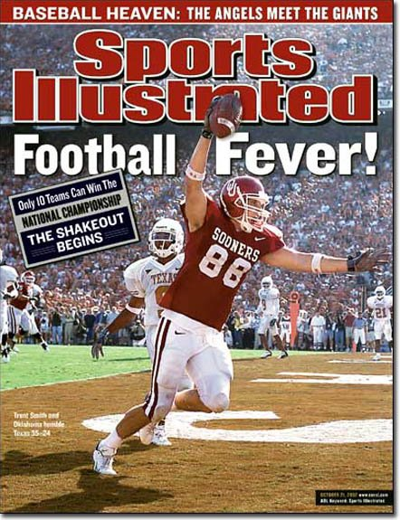 """SPORTS ILLUSTRATED """"Football Fever"""" 10/21/2002"""