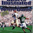 "SPORTS ILLUSTRATED ""Return to Glory-Notre Dame""09/30/02"