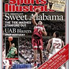 "SPORTS ILLUSTRATED ""Sweet Alabama"" 03/29/2004"