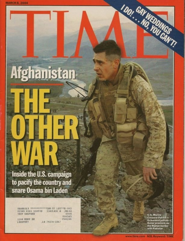 TIME MAGAZINE ~ MARCH 8 2004 ~AFGHANISTAN THE OTHER WAR