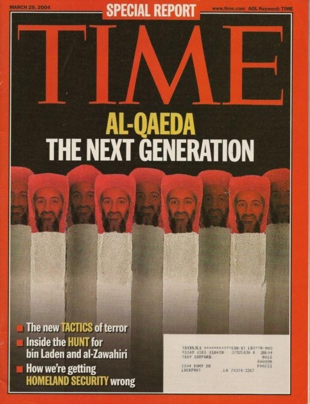 TIME ~ MARCH 29 2004 ~ AL-QAEDA THE NEXT GENERATION