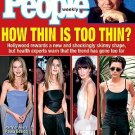 People Magazine October 18 1999 How thin is too thin?
