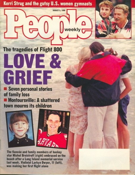 1996 People Magazine: Flight 800 - Love & Grief Stories