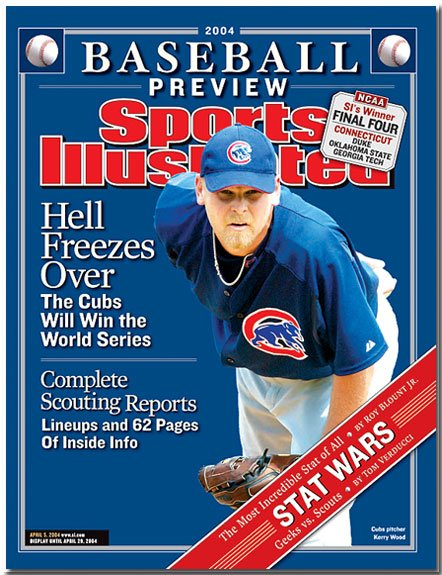 """SPORTS ILLUSTRATED """"Hell Freezes Over"""" 04/05/04"""