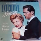 Executive Suite WS Laserdisc starring William Holden, Barbara Stanwyck
