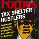FORBES MAGAZINE 12/14/1998 Tax Shelter Hustlers