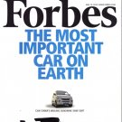 FORBES MAGAZINE 05/10/2010 The Most Important Car on Earth issue