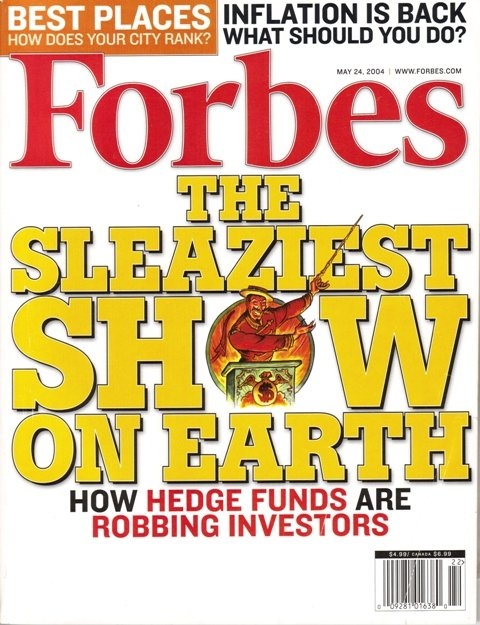 FORBES MAGAZINE 05/24/2004 The Sleaziest Show on Earth issue