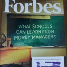 FORBES MAGAZINE 06/07/2010 What Schools Can Learn from Money Managers issue