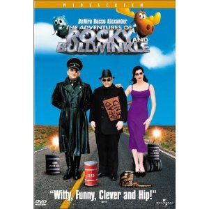 The Adventures of Rocky & Bullwinkle DvD starring Robert De Niro