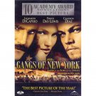 Gangs of New York DvD starring Leonardo DiCaprio, Daniel Day Lewis