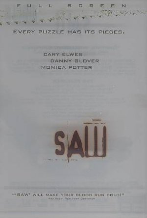 sAW Dvd starrying Cary Elwes, Danny Glover & Monica Potter