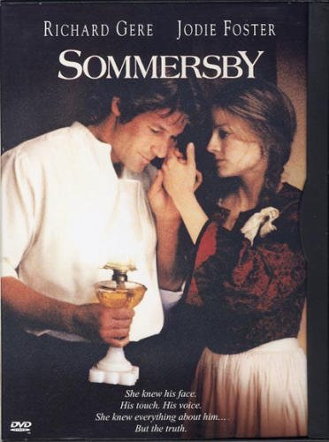 Sommersby DvD starring Richard Gere & Jodie Foster