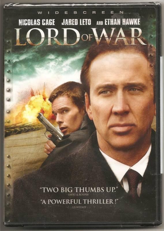 Lord of War DvD starring Nicolas Cage, Ethan Hawke