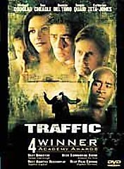 Traffic DvD starring Michael Douglas, Don Cheadle, Dennis Quad