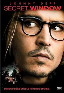 Secret Window DvD starring Johnny Depp, Maria Bello