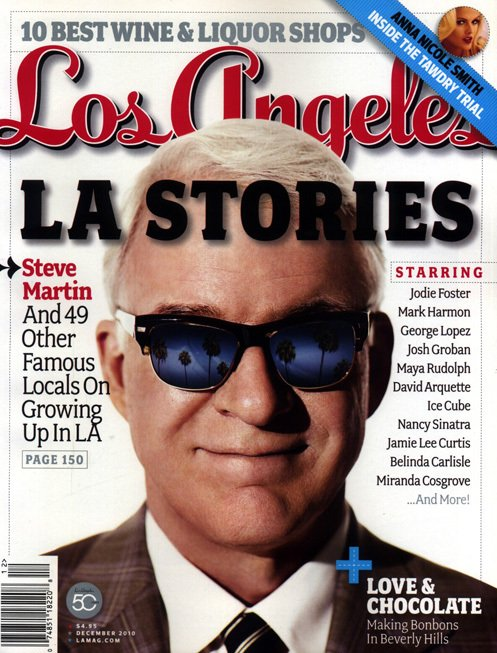 Los Angeles Magazine-Steve Martin Cover 12/2010