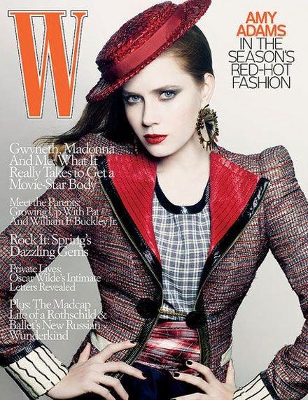 W Magazine-Amy Adams Cover 05/2009