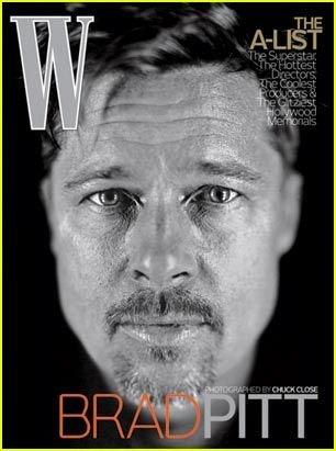 W Magazine-Brad Pitt Cover 02/2009