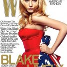 W Magazine-Blake Lively Cover 12/2008