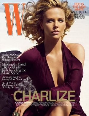 W Magazine-Charlize Theron Cover 06/2008