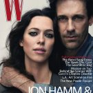 W Magazine-John Hamm & Rebecca Hall Cover 08/2010